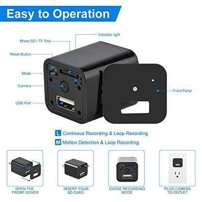 HD 1080P Mini Camera USB Phone Charger image 2