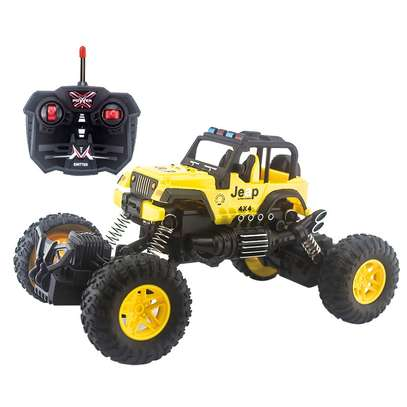 Children's remote control toy rock climber car image 7