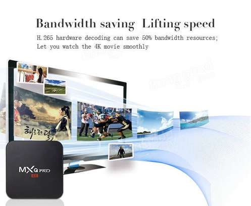 MXQ Pro 4K Android Smart TV Media Box for Movies, Series and Live TV image 4