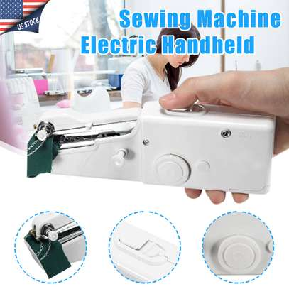 Portable Handy Mini Portable Electric Tailor Stitch Hand-held Sewing Machine image 2
