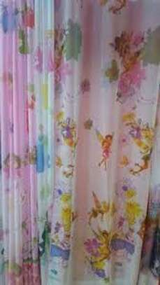 Cartoon print curtains image 2