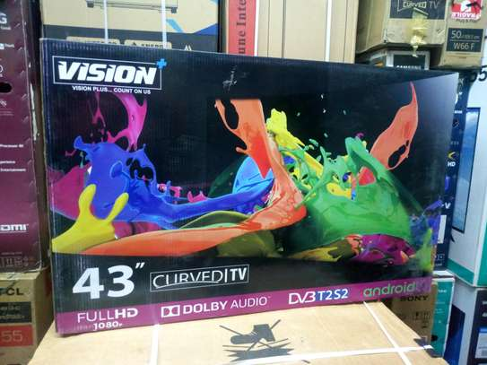 Vision 43 Curved Smart FHD Android Tv image 1
