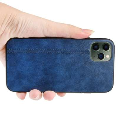 IPhone 11 Pro Max Case Rugged Shield Leather Cover image 8