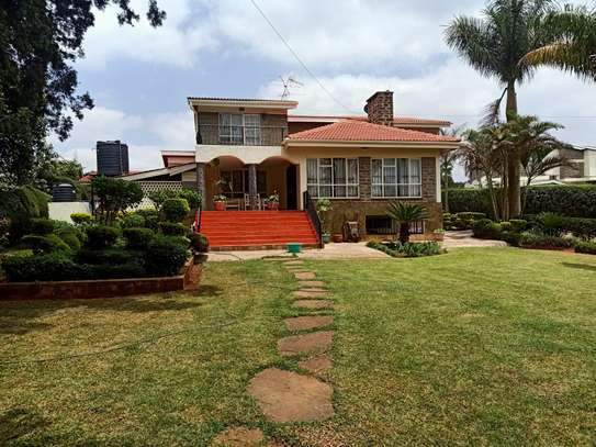 Furnished 4 bedroom house for rent in Gigiri image 1