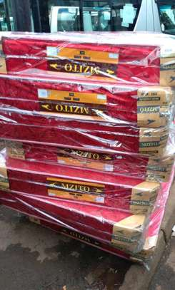 Queen size 5 by 6 high-density brand new 6 inches mattress free delivery