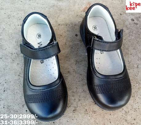 Quality leather school shoes image 1