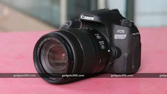 Canon EOS 77D 24.2MP Wi-Fi NFC DSLR Camera with NO Lens image 2