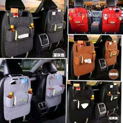 Double Car back seat organizer