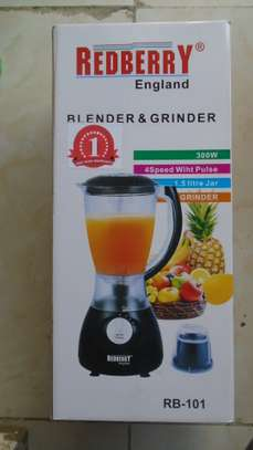 2 in 1REDBERRY Blender image 1