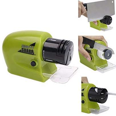 Motorized knife Sharpener Electric Cordless Multi functional blade sharpener image 2