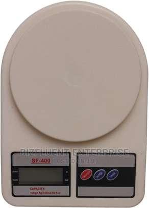 Digital Kitchen Scale, White image 1