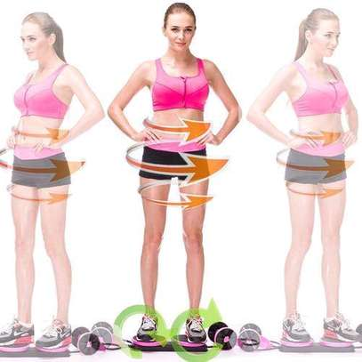 Abdominal Multi-functional Exercise Fitness AB Roller Wheel for Abdominal Fitness & Twist Weight image 3