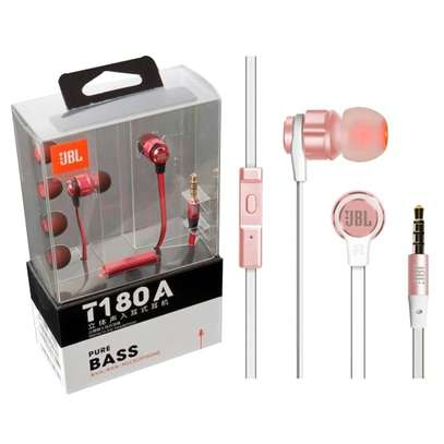 JBL T180A Universal 3.5mm In-ear Stereo Superbass Wired Earphones image 7