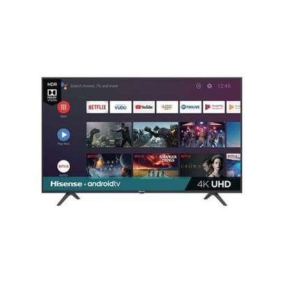 """hisense 50"""" smart android frameless 4k uhd TV image 1"""