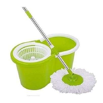 Spin Mop & Bucket Set - Green image 1
