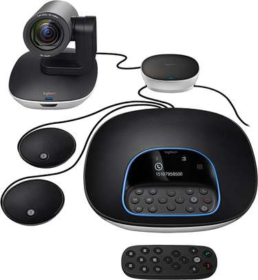 Brand: Logitech Model: Group Video & Work From Home Video Conferencing image 2