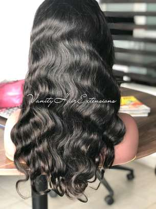 22 Full Lace Human Hair Wig - Body Wave