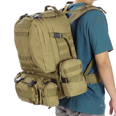 Military Bag 55L-Tactical Bag/Trekking/hiking/camping/Traveling bag image 13
