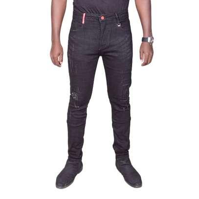 Black Rugged Jeans