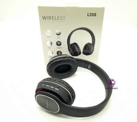 L350 Wireless On-Ear HD Extra BASS Bluetooth Headphones image 1