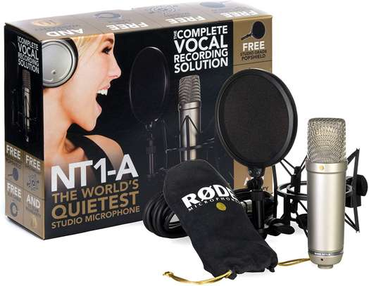 Rode NT1-A Anniversary Condenser Microphone image 1
