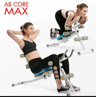 Abs Core max Abdominal Power Plank Exercise Machine image 2