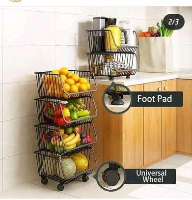 4-tier vegetables rack image 1