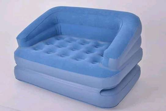 Inflatable 2 Seater Pull Out Sofa image 1
