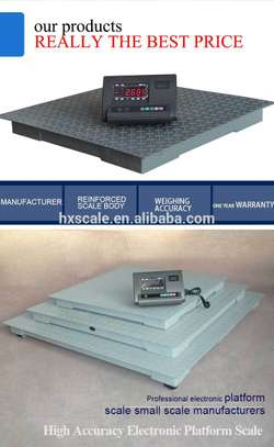 1 Ton Electronic Floor Scale Industrial Weighing Scales image 2