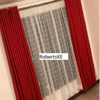 Red Wine Curtain image 1