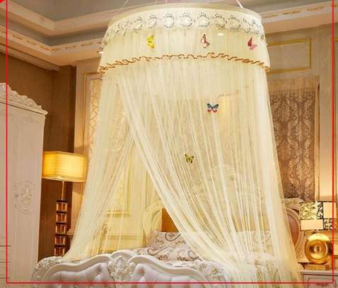 Extra king size round mosquito net