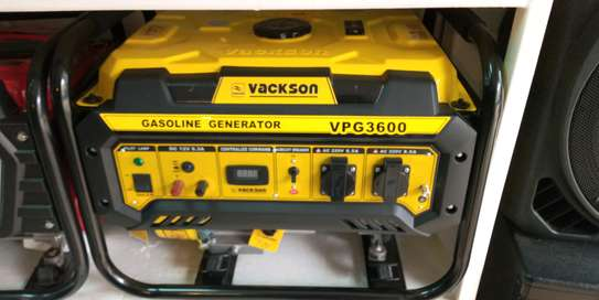 Vackson 3.0kva Petrol Gasoline Generator image 1