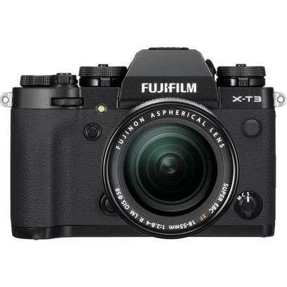 FUJIFILM X-T3 Mirrorless Digital Camera with 18-55mm Lens (Black) image 1