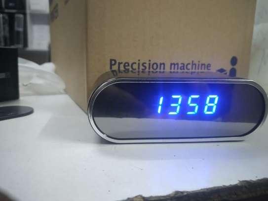 digital wall clock nanny camera image 2