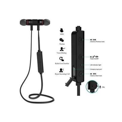 SPORTS Wireless Bluetooth Headphones In-Ear Noise Reduction Earphone With Microphone image 2