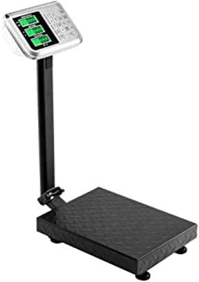 Stainless Steel Digital Floor Heavy Duty Folding Scales image 1
