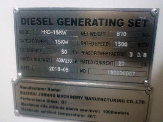 15Kw/18.75kva power Generator image 1