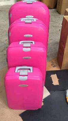 Fashionable zipless suitcase and high quality