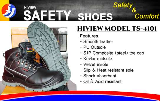 Safety Shoe No. HTS4101 (Box Of 10)