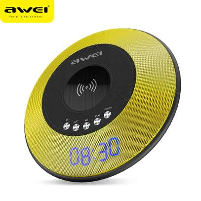 AWEI Y290 Bluetooth Speaker with Wireless Charger Mini Portable Speakers Waterproof Sound Box image 6