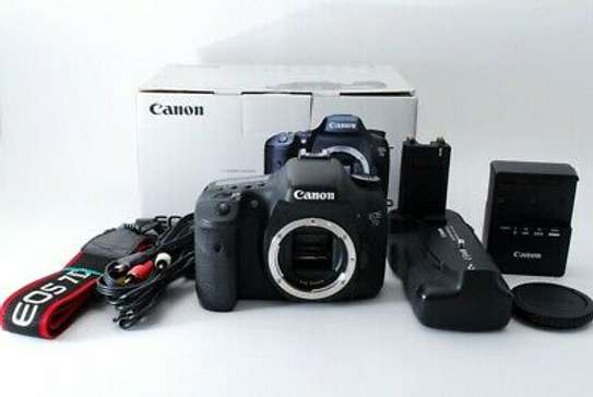 Excellent++ Canon EOS 7D 18.0MP Digital SLR Camera Body w/ Battery Grip from JP image 4