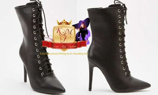 High Heels Ankle Boots From UK. image 1