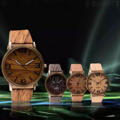 Classic Wooden fashion quartz watch -Brown