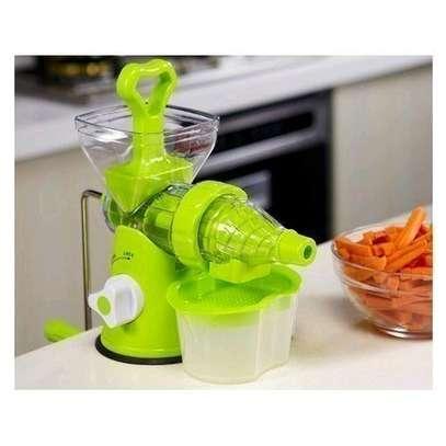 Effective Blender- multi function manual Juicer- fruits and vegetable image 2