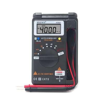 VC921 auto range Pocket Portable Mini Digital Multimeter image 1