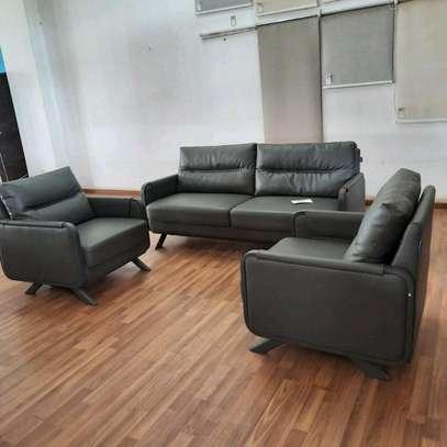 Executive Leather Sofas image 1