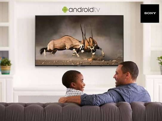 Sony bravia 49inches KD-49x7500H smart 4k Androidtv image 1