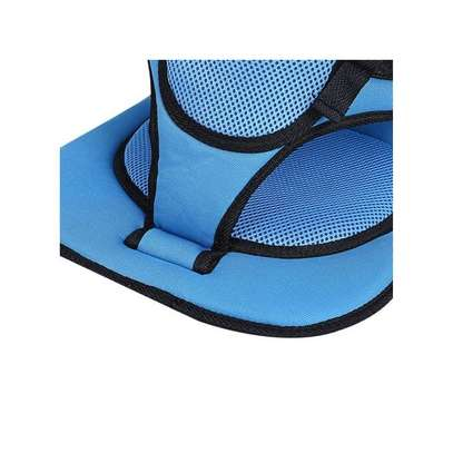 Blue Breathable Thick Car seat Cushion image 2