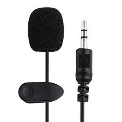 3.5mm Mic Lapel Microphone with 1.5m Cable for Teaching Conferences (MIC-02)
