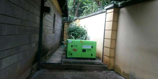 10 KW Roomny Automatic diesel engine generator silent with Canopy